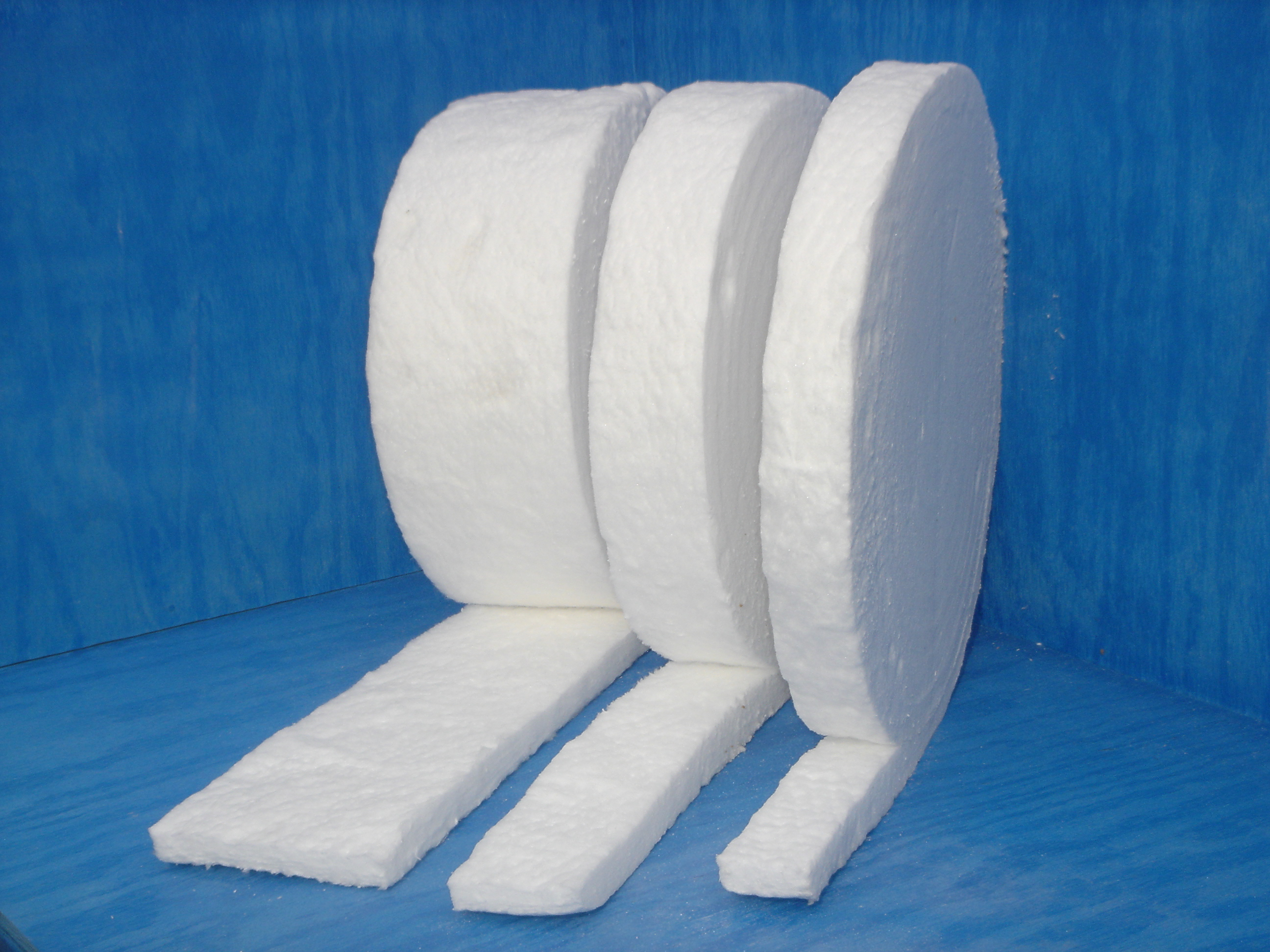 Ceramic Blanket Strips On Thermal Products Company Inc